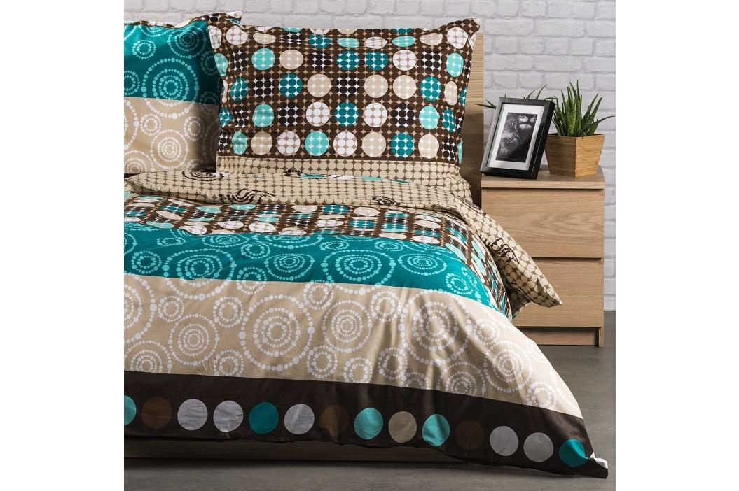Kvalitex Bavlnené obliečky Circles, 240 x 200 cm, 2 ks 70 x 90 cm