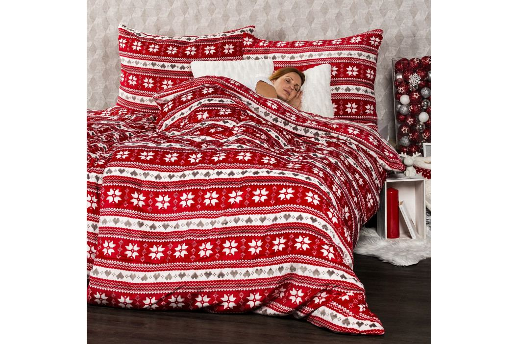4Home obliečky mikroflanel Zimný sen, 160 x 200 cm, 2x 70 x 80 cm