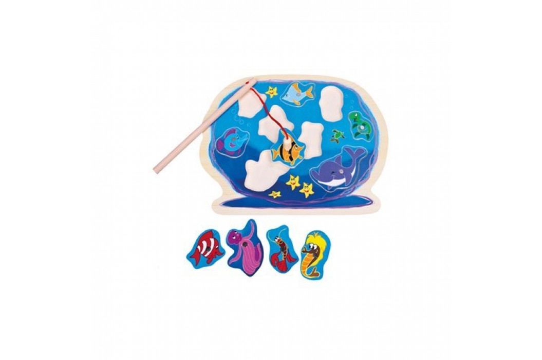 Bino Puzzle Akvárium s prútom