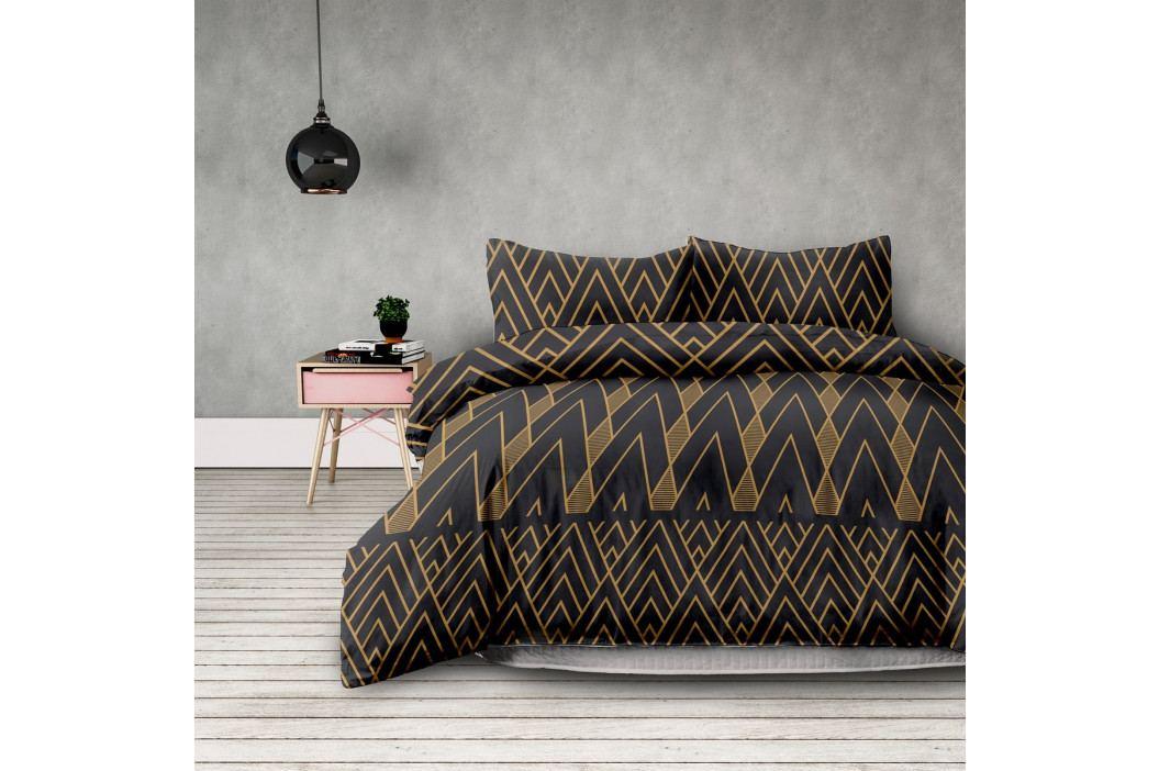 AmeliaHome Flanelové obliečky Decoratif, 160 x 200 cm, 2 ks 70 x 80 cm