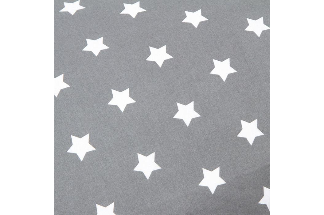 4Home Obliečka na Relaxačný vankúš Náhradný manžel Stars sivá