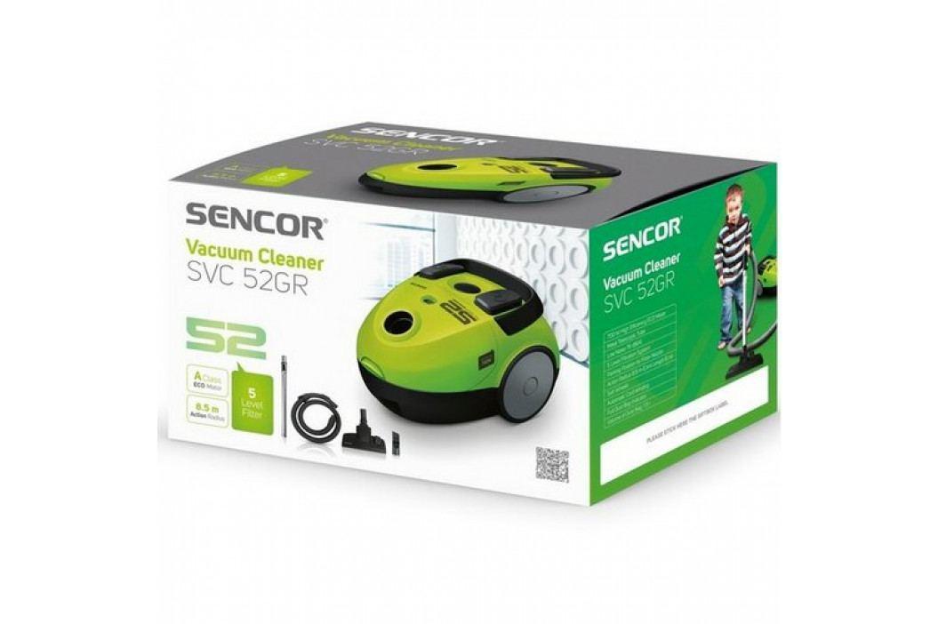 SENCOR SVC 52WH-EUE3 podlahový vysávač