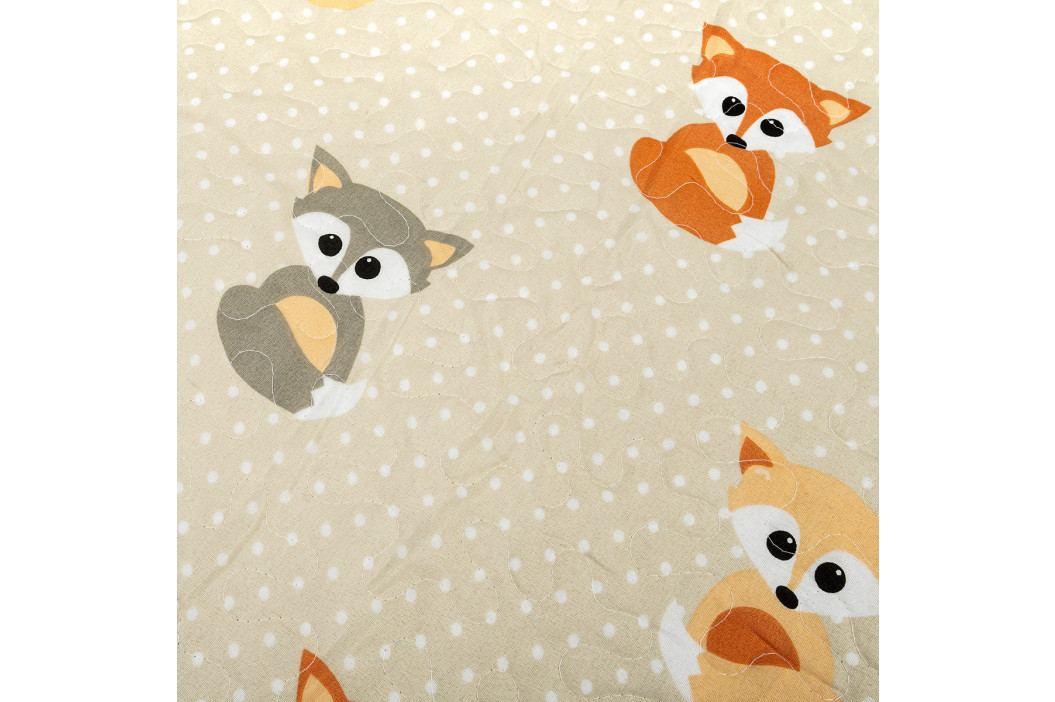 4Home Detský prehoz Little Fox, 140 x 200 cm
