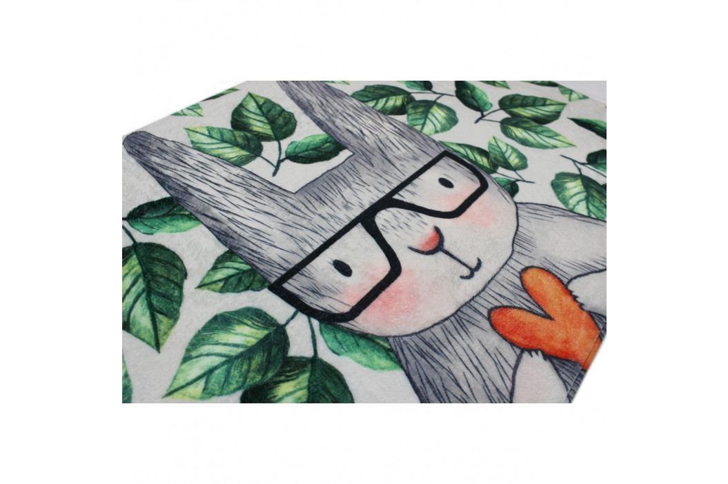 Domarex Koberček z pamäťovej peny Soft Green Meadow, 50 x 80 cm