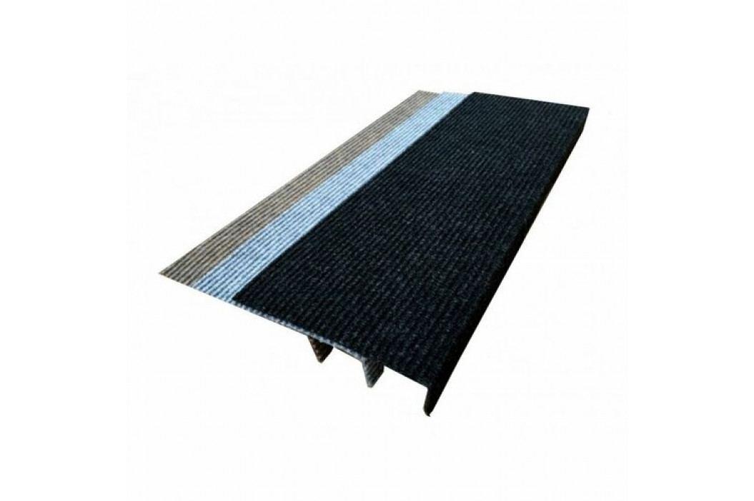 VOPI Nášľap na schody Quick step obdĺžnik antracitová, 24 x 65 cm