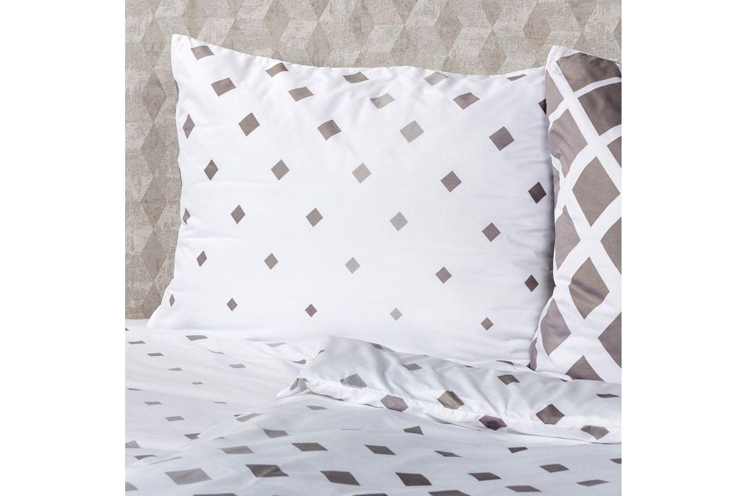 4Home Obliečky Geometric sivá micro, 160 x 200 cm, 70 x 80 cm