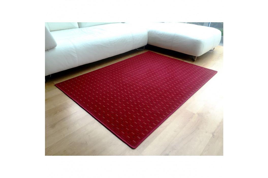 Vopi Kusový koberec Valencia červená, 140 x 200 cm