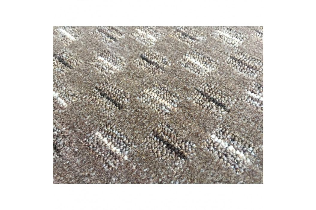 Vopi Kusový koberec Valencia hnedá