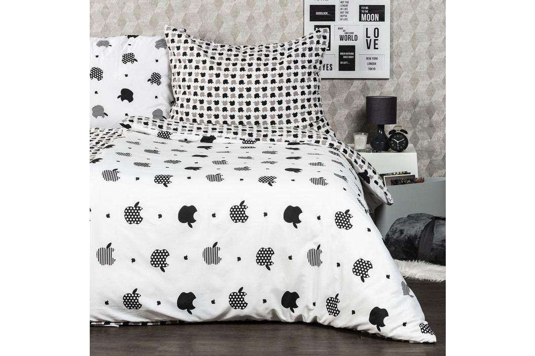 4Home Obliečky Appletime micro , 140 x 220 cm, 70 x 90 cm