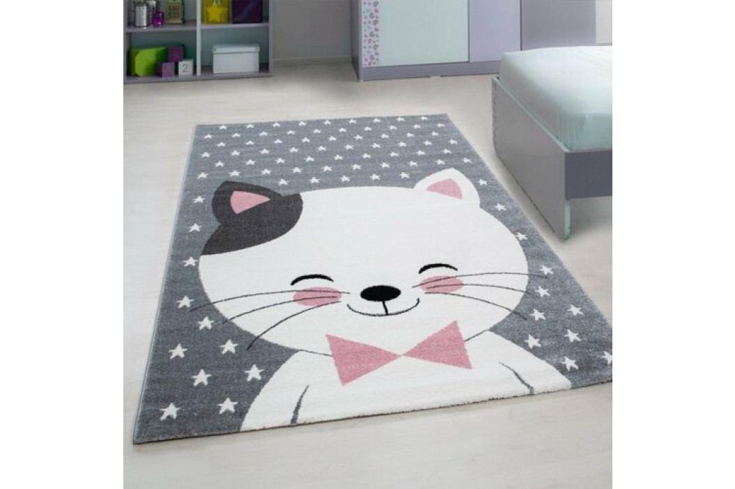 Vopi Kusový detský koberec Kids 550 pink, 120 x 170 cm