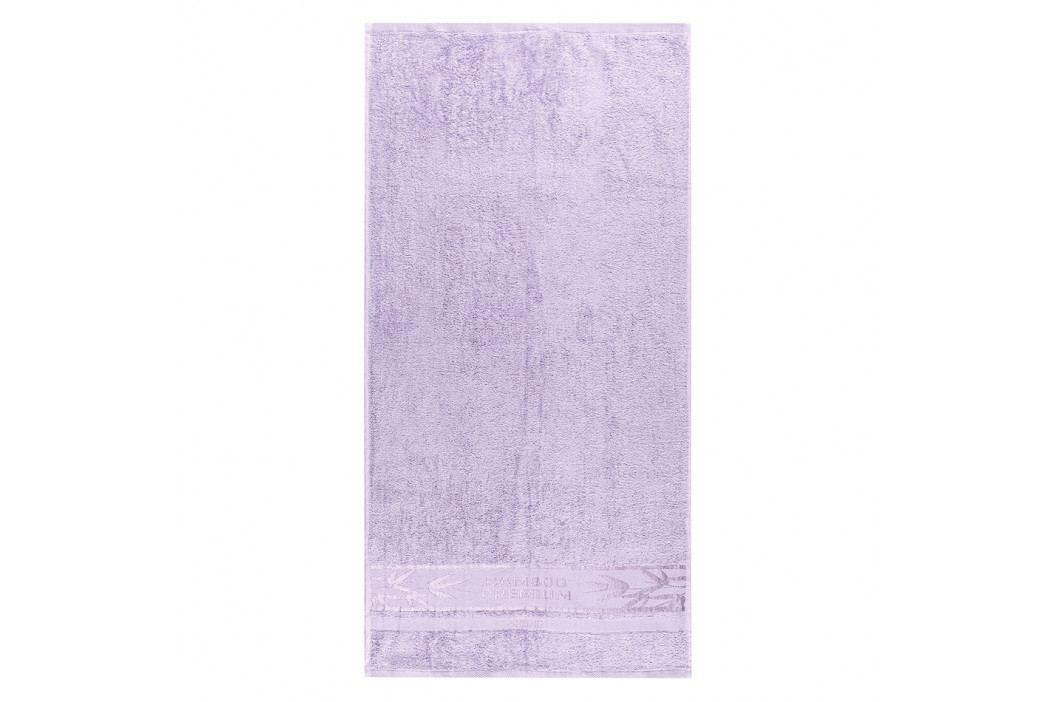 4Home Sada Bamboo Premium osuška a uterák svetlofialová, 70 x 140 cm, 50 x 100 cm