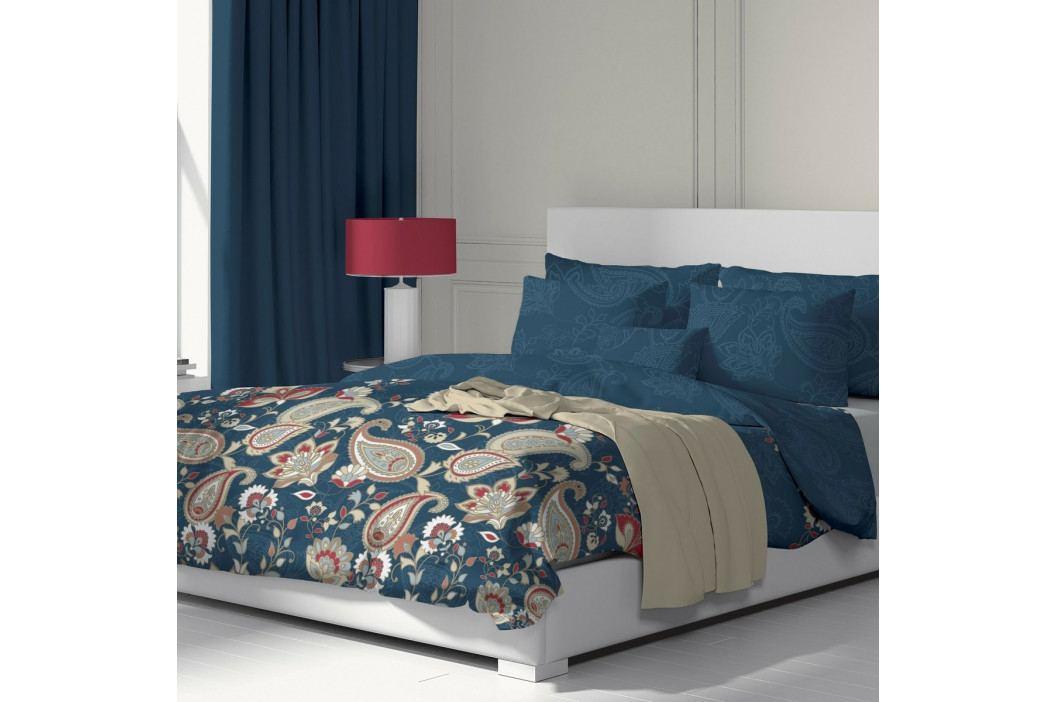Kvalitex Bavlnené obliečky Olympia petrolejová, 240 x 200 cm, 2 ks 70 x 90 cm
