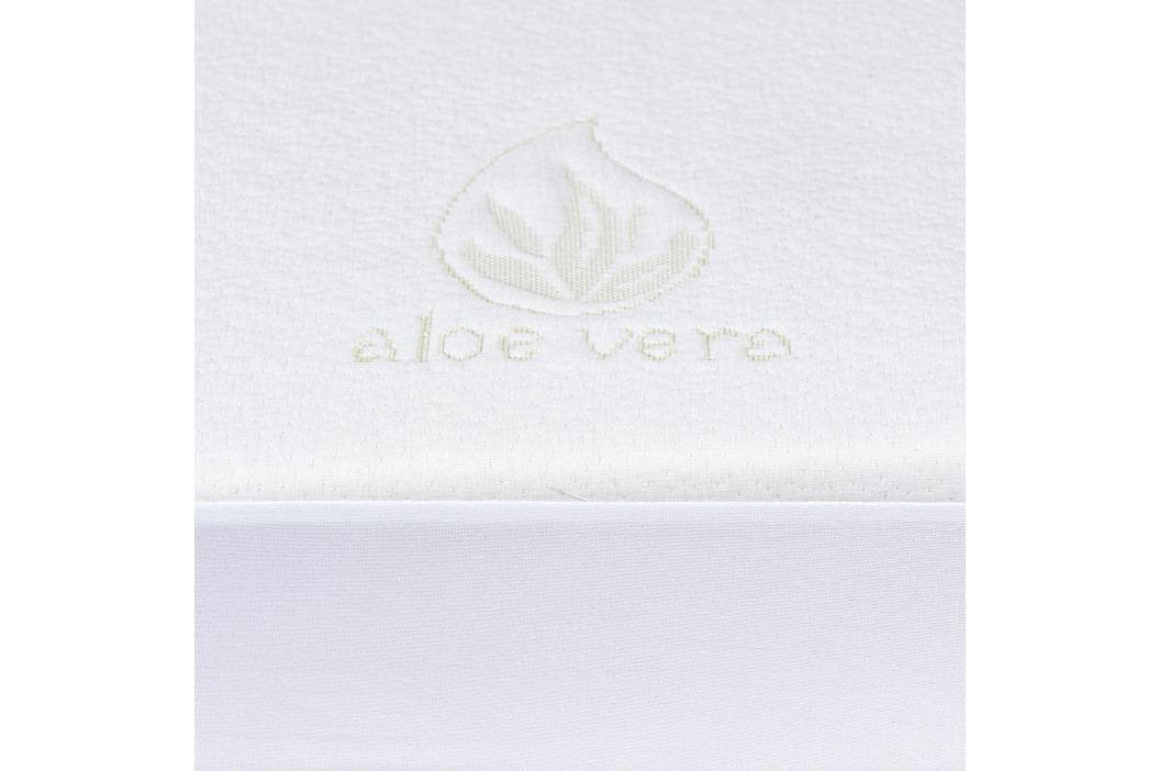 4home Aloe Vera Nepriepustný chránič matraca s lemom, 180 x 200 cm