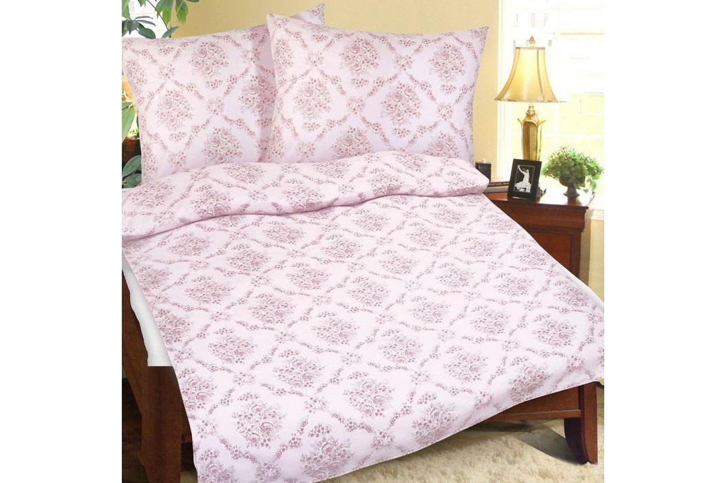 Bellatex Bavlnené obliečky Sen ružová, 140 x 200 cm, 70 x 90 cm