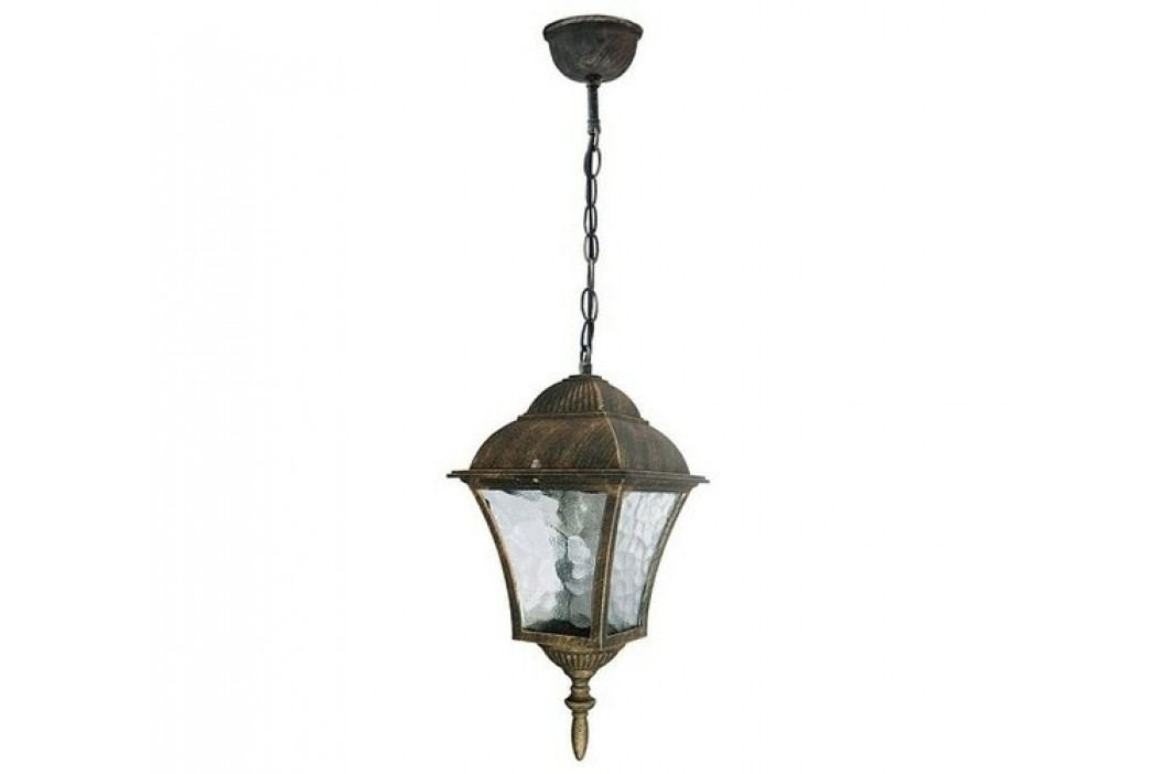Vonkajšie závesné svietidlo Rabalux Toscana antická zlatá 8394