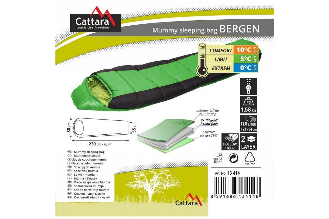 CATTARA BERGEN 0 °C spací vak
