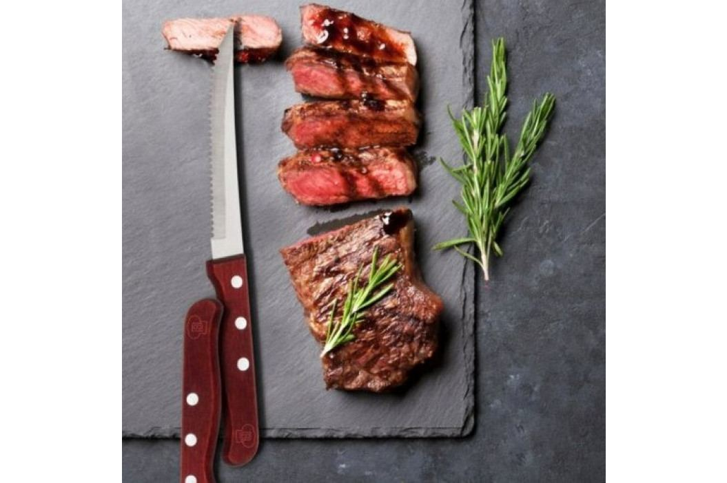 Blaumann Nôž steakový nerez a drevo, 4 ks