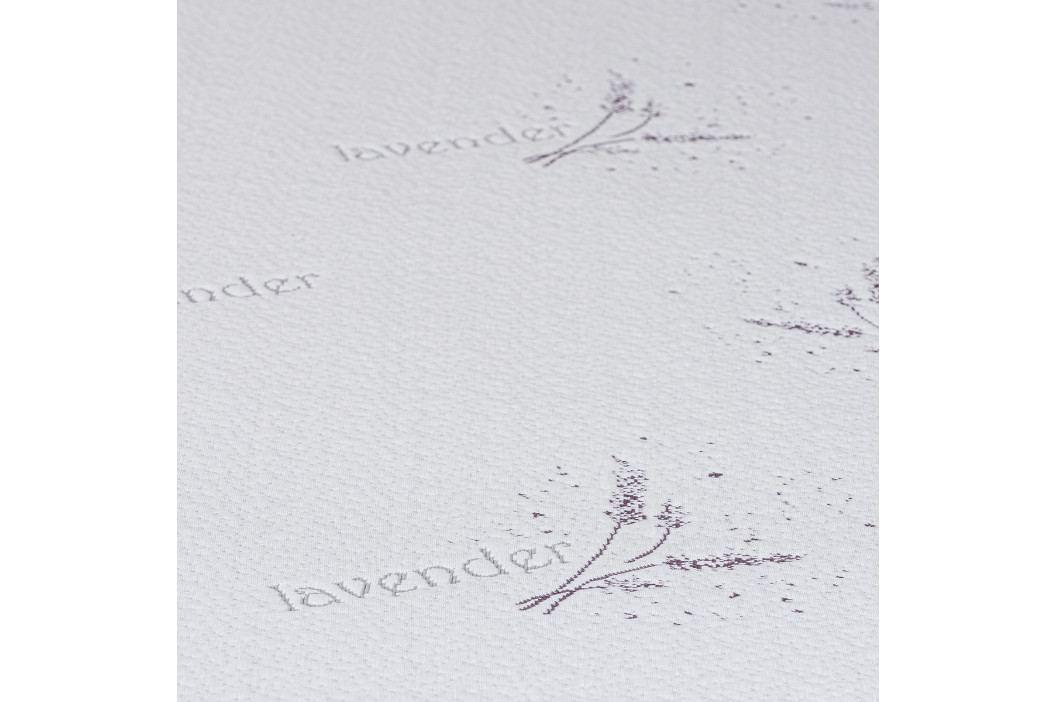 4home Lavender Chránič matraca s lemom, 160 x 200 cm