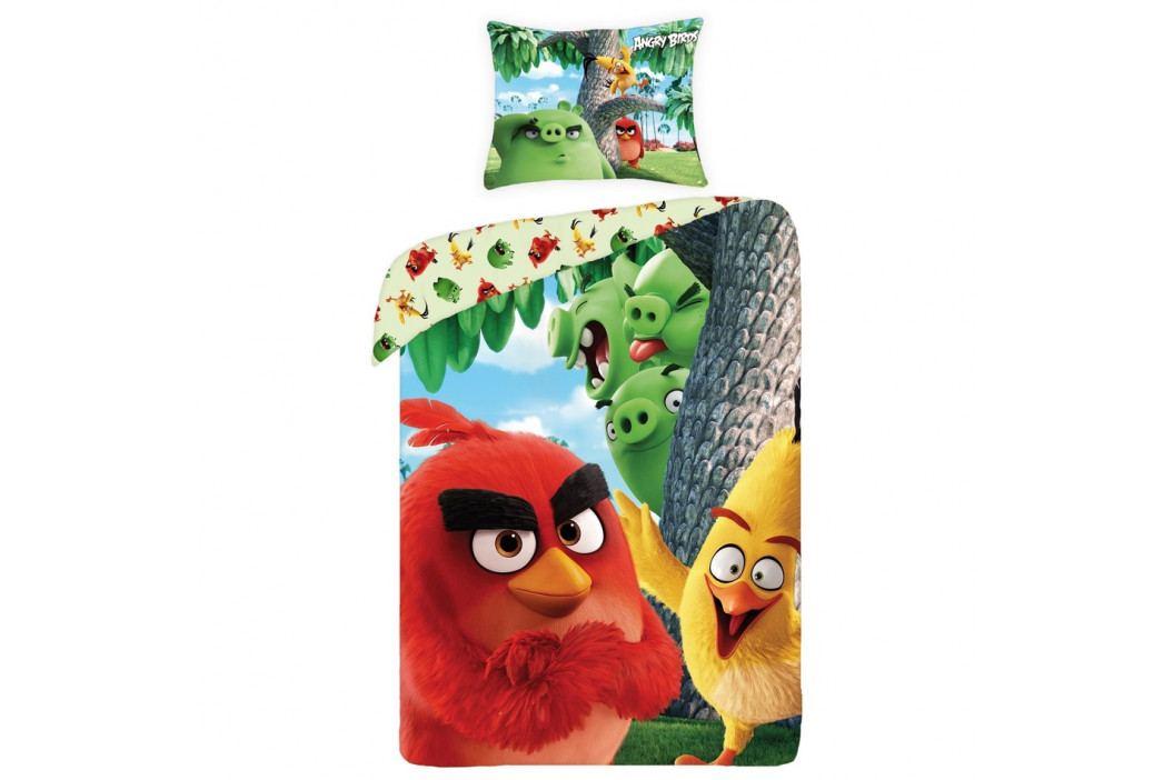 Halantex Detské bavlnené obliečky Angry Birds movie 1166, 140 x 200 cm, 70 x 90 cm