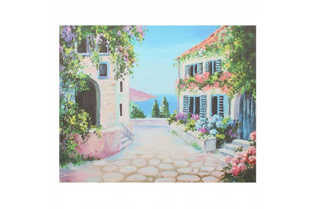 Obraz na plátne Flower alley