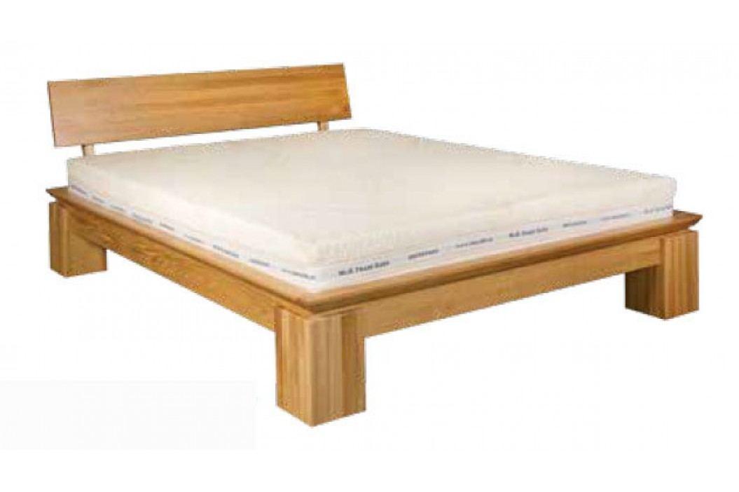Manželská posteľ 180 cm LK 213 (dub) (masív)