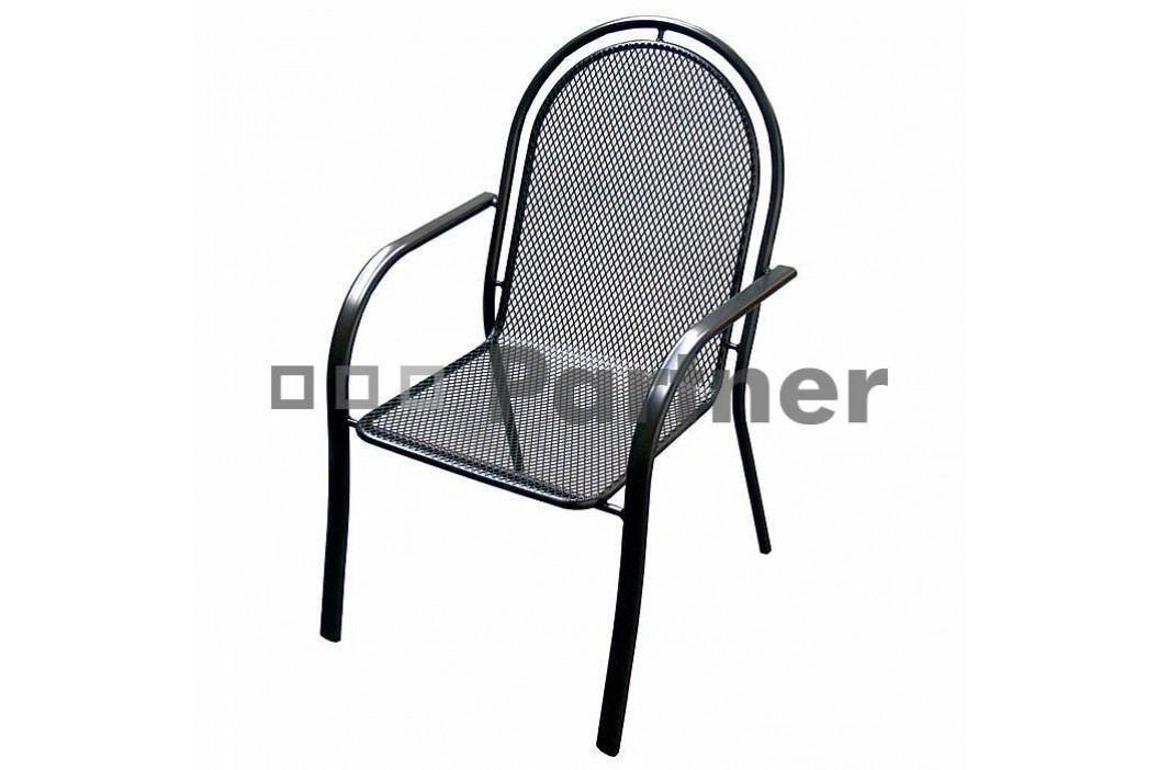 Záhradná stolička Corina (kov)