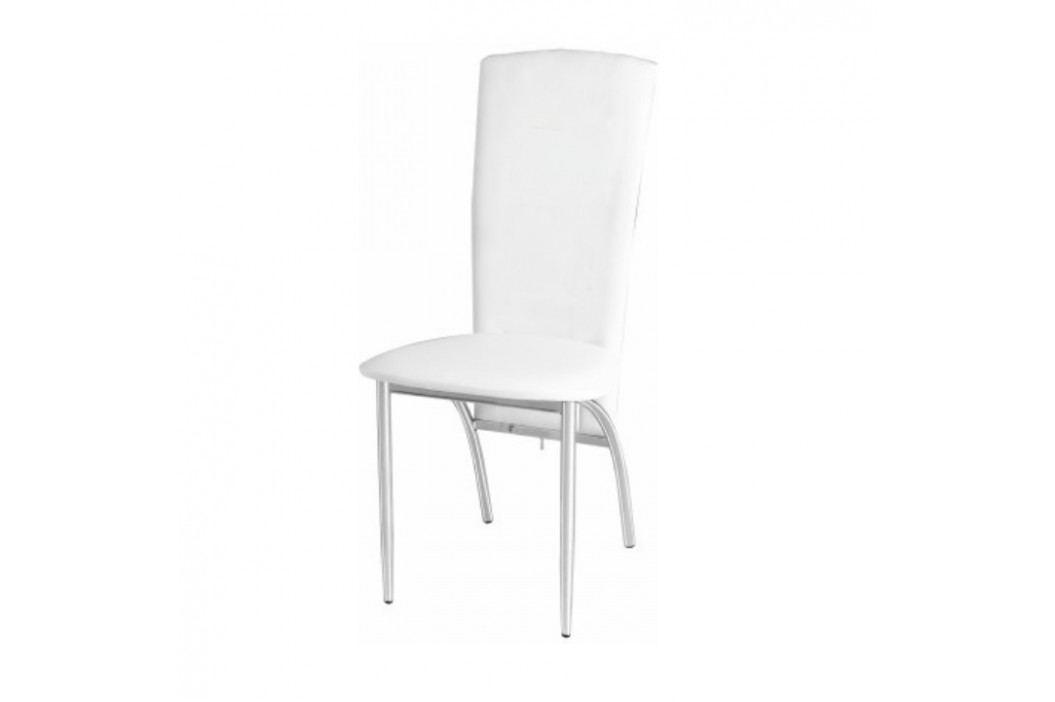 Jedálenská stolička Fina biela