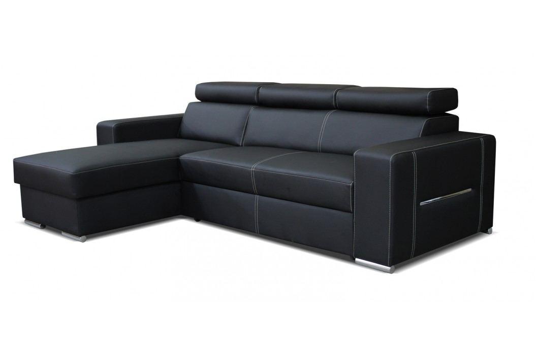 Rohová sedačka Aris L+2F (čierna) (L)