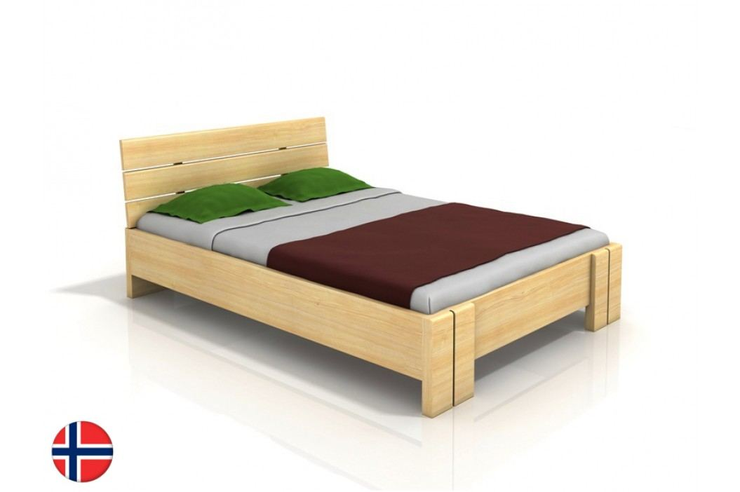 Manželská posteľ 160 cm Naturlig Tosen High (borovica) (s roštom)