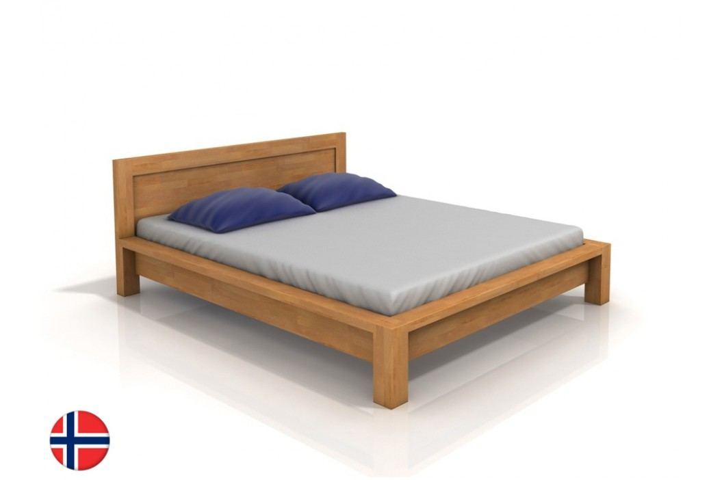 Manželská posteľ 200 cm Naturlig Fjaerland (buk) (s roštom)