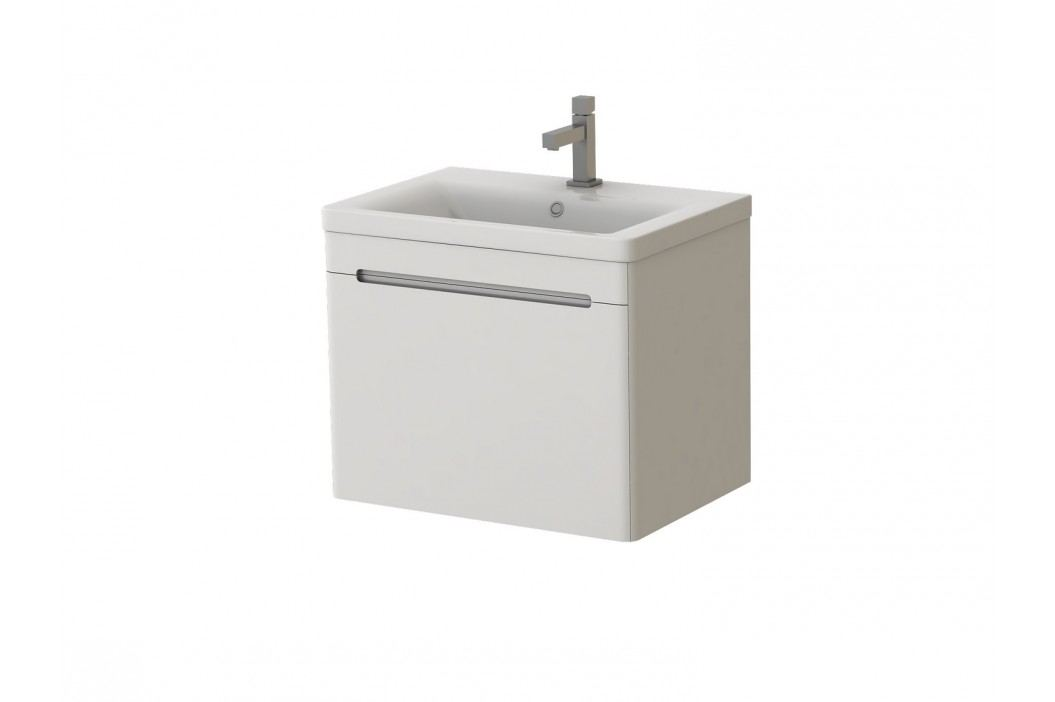 Kúpeľňová skrinka na stenu s umývadlom Juventa Tivoli Tv-65 W
