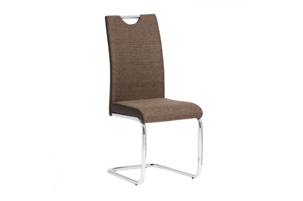 Jedálenská stolička Izma (hnedá)