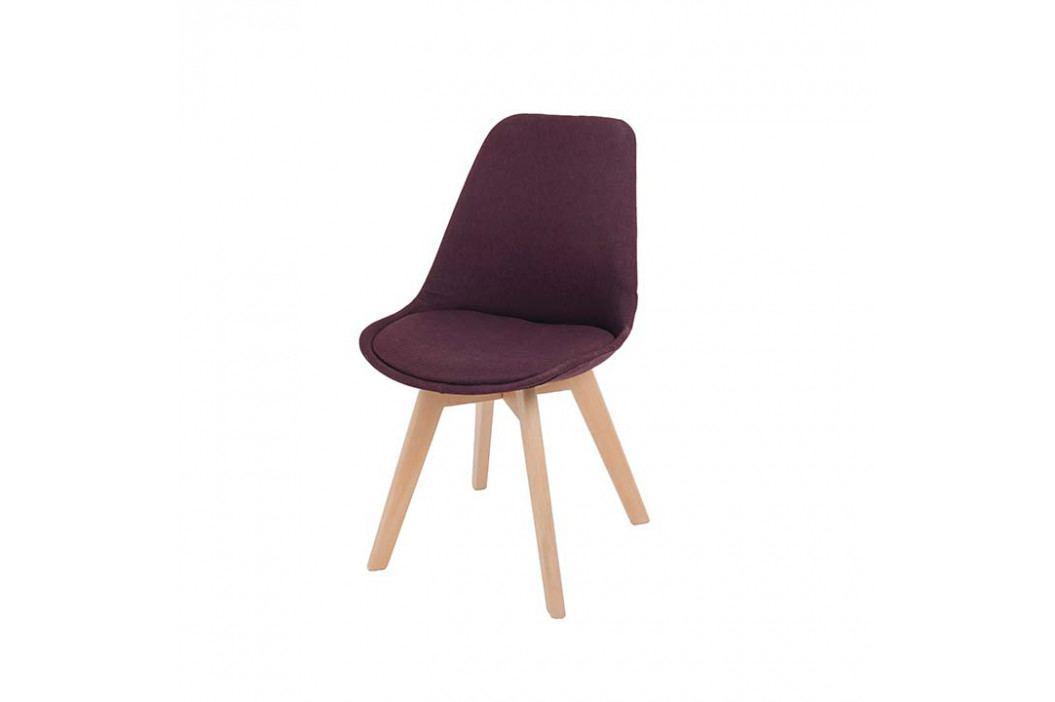 Jedálenská stolička Lorita (fialová)