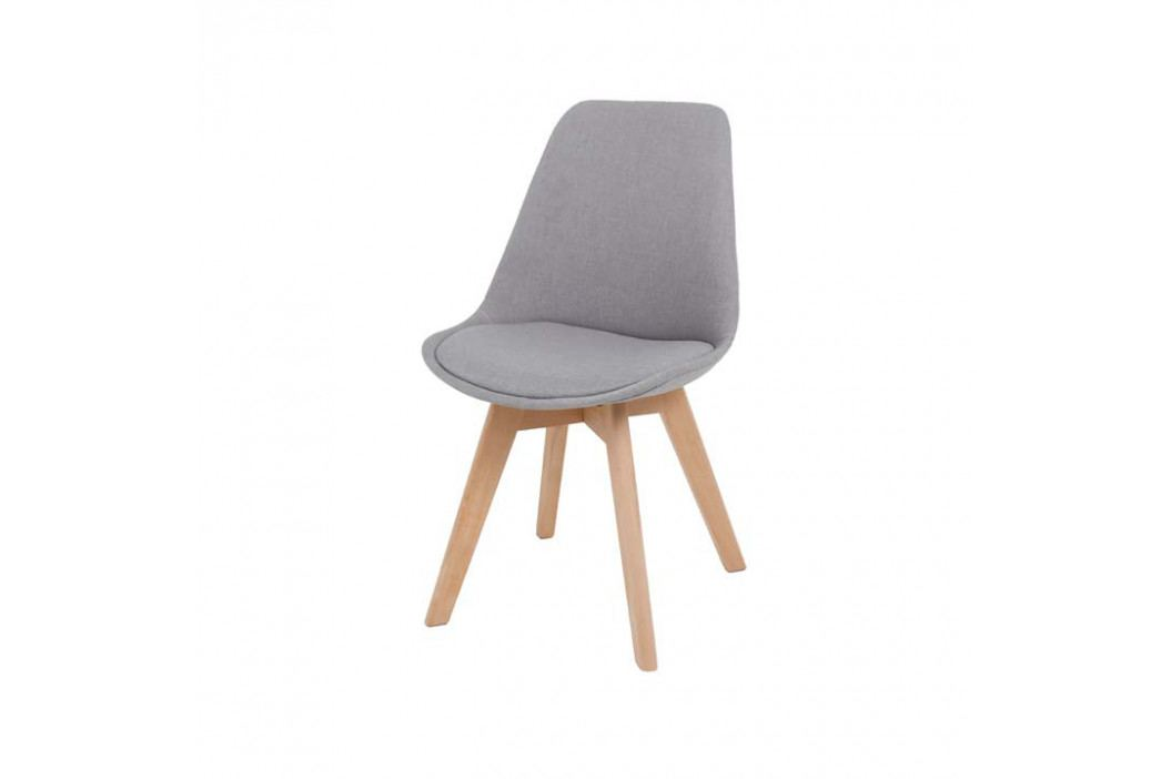 Jedálenská stolička Lorita (sivá)