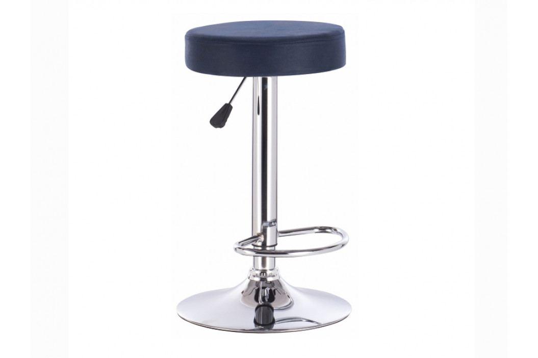 Barová stolička Galvin (petrolejová)