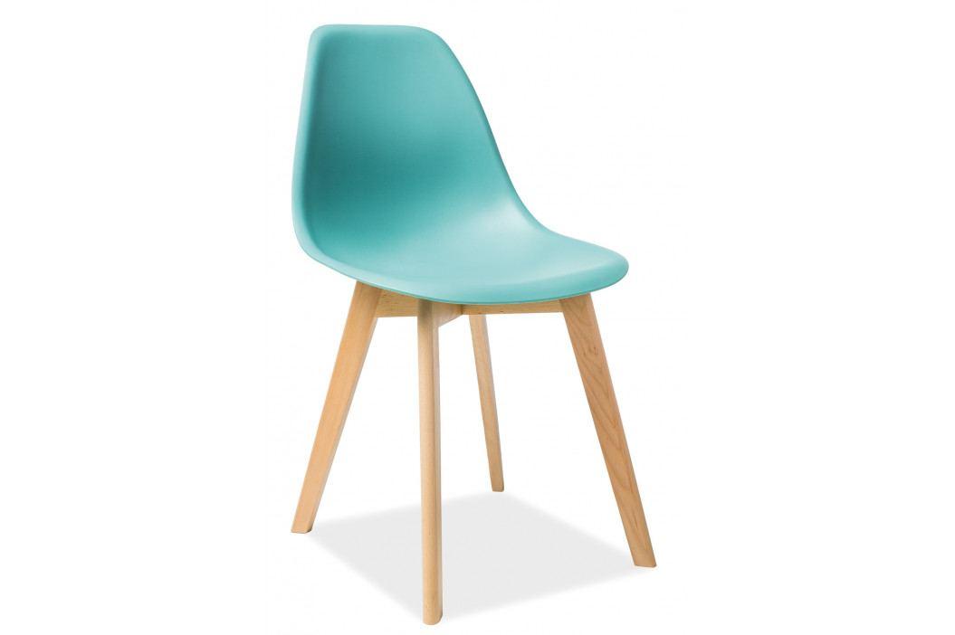 Jedálenská stolička Moris (zelená)