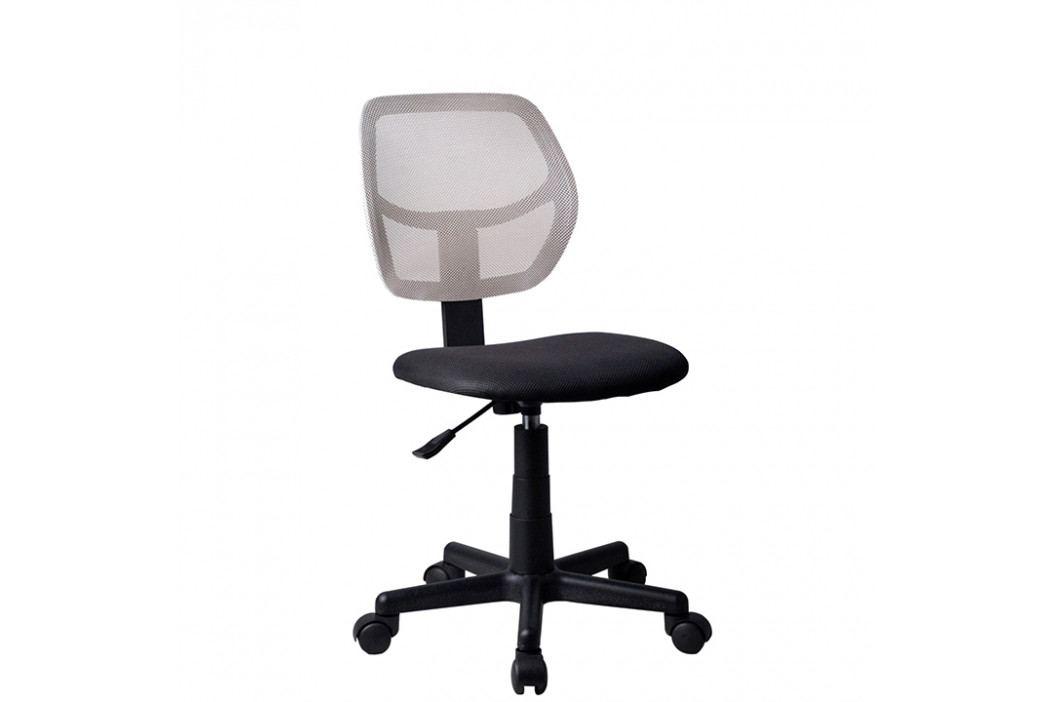 Otočná stolička Mesh (sivá)