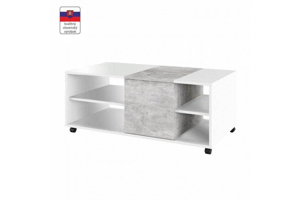 Konferenčný stolík Delimaro (beton)