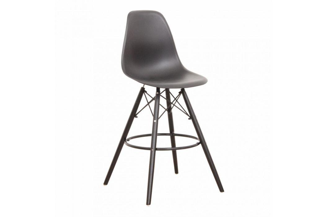 Barová stolička Carbry (čierna)