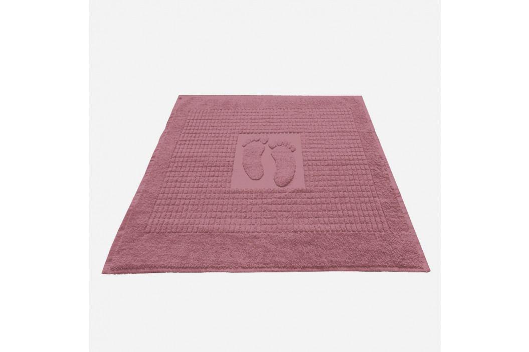 Kúpeľňová predložka Stopa fialová 50x70 cm bavlna