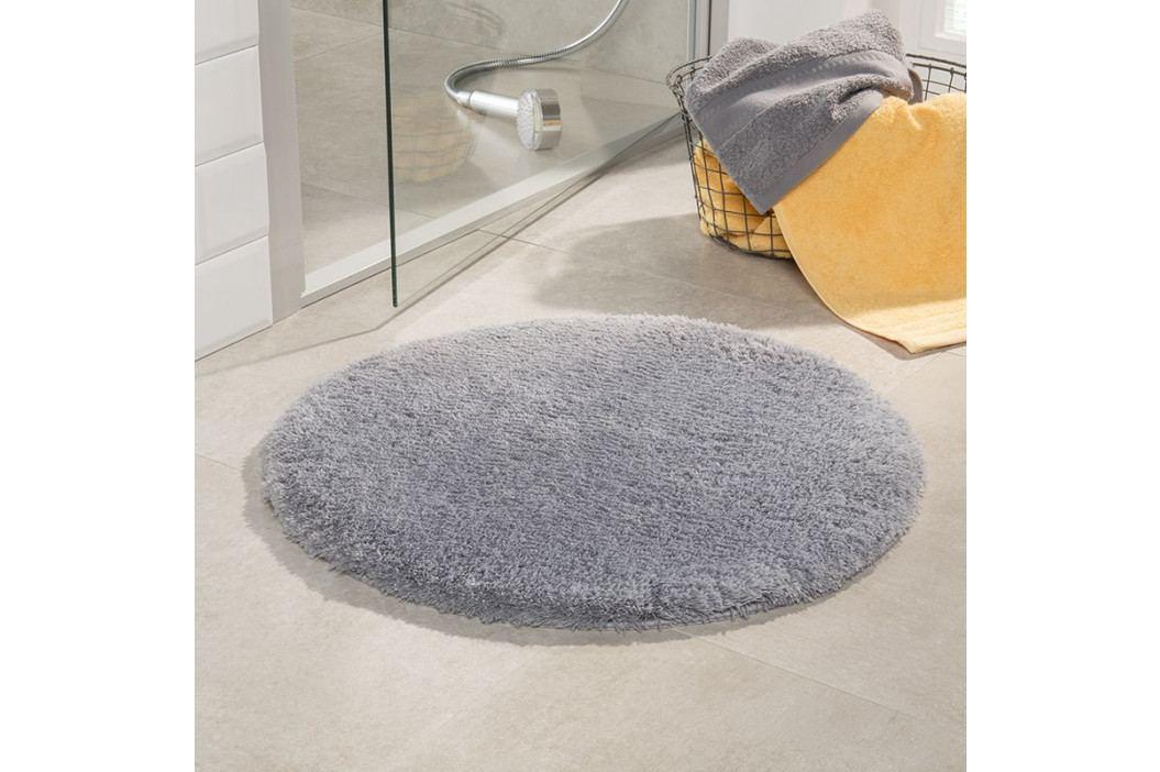 Kúpeľňová predložka Malmo sivá priemer 71 cm šedá