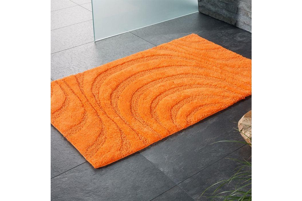 Kúpeľňová predložka Jaipur oranžová 60x100 cm oranžová