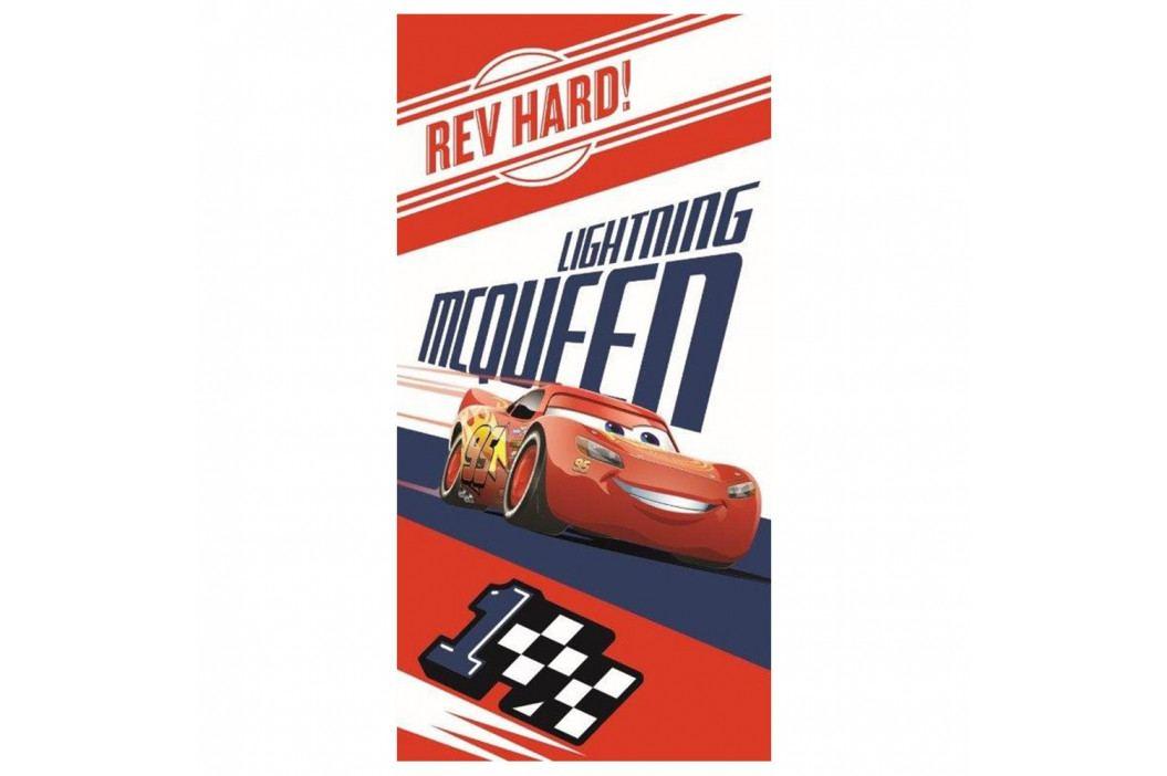 Detská osuška Cars McQueen 70x140 cm farebná
