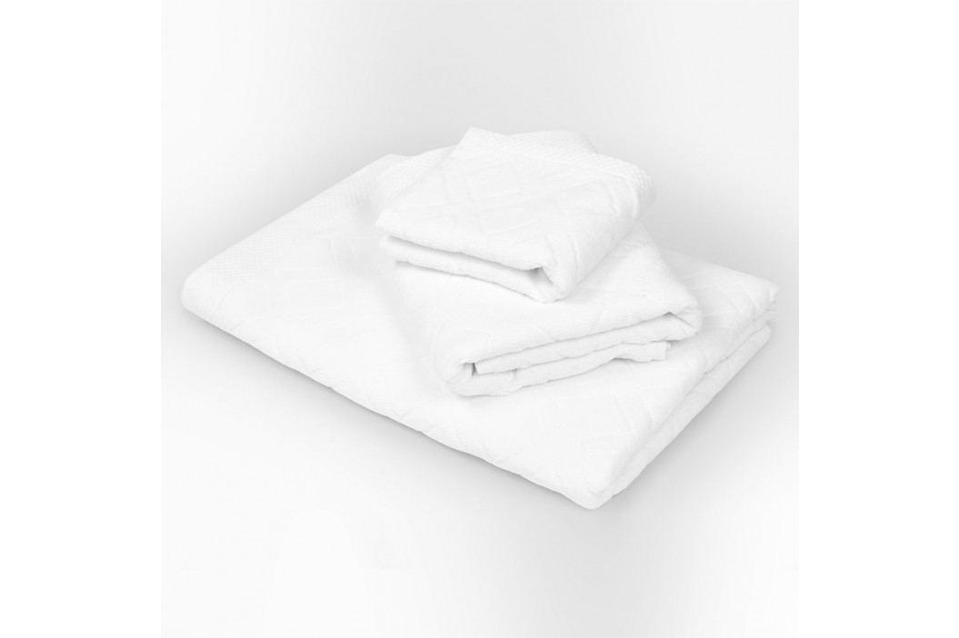 Malý uterák Charles biely 30x50 cm Uterák malý