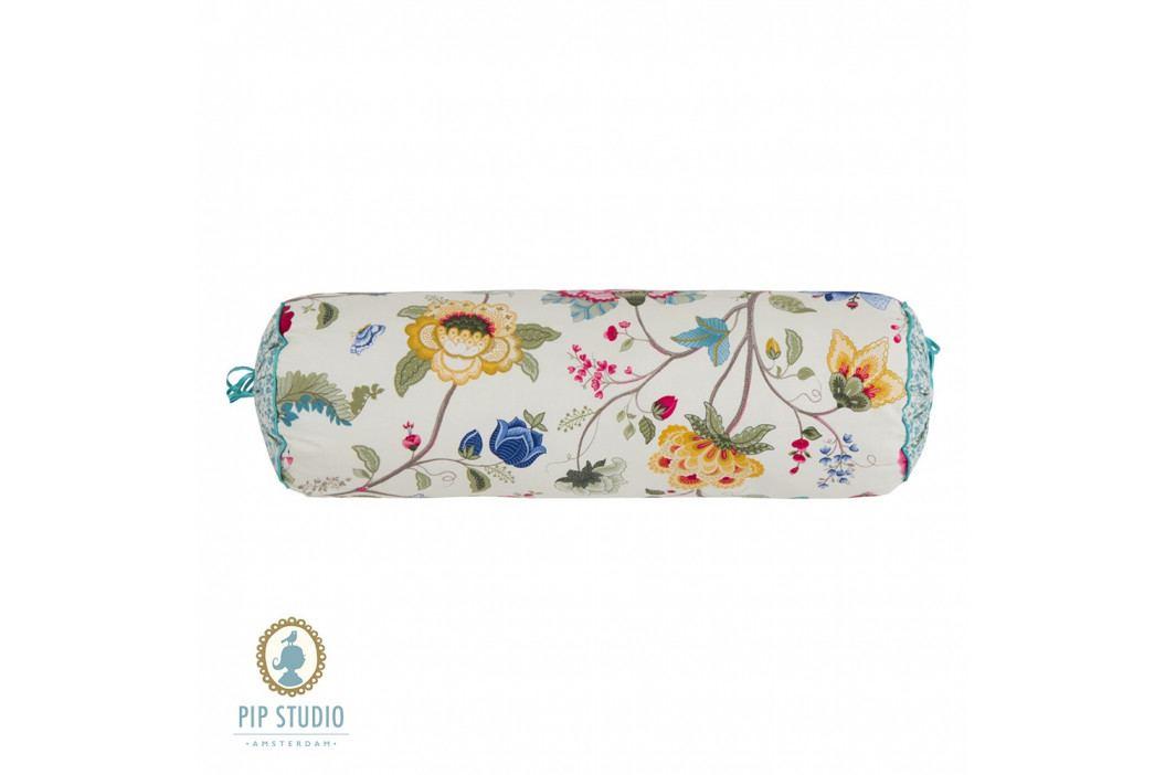 Vankúš valček Pip Studio Floral Fantasy ecru 22x70 cm farebná
