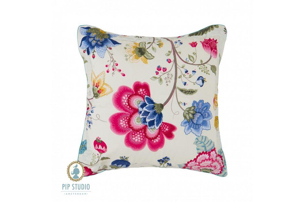 Štvorcový vankúš Pip Studio Floral Fantasy ecru 45x45 cm farebná