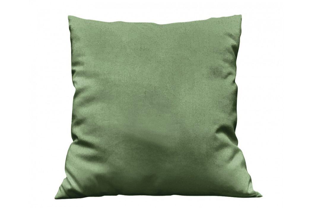 Obliečka na vankúšik Uni tmavo zelená 40x40 cm Bavlnený satén