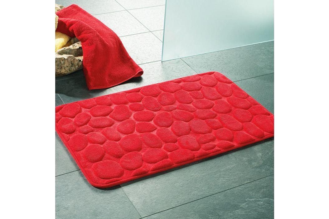 Kúpeľňová predložka London červená 50x80 cm červená
