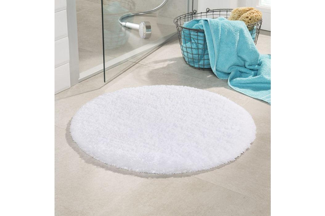 Kúpeľňová predložka Malmo biela priemer 71 cm biela