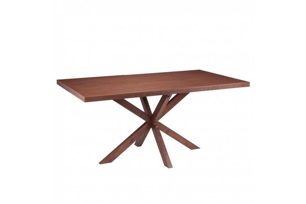 Jedálenský stôl vdekore orechového dreva sømcasa Dina, 180×90cm